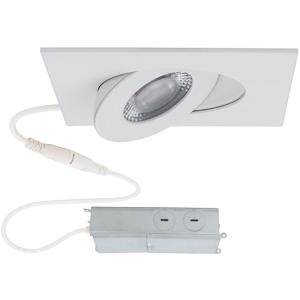 Lotos-6W 1 LED Square Adjustable Recessed Kit in Functional Style-3.5 Inches Wide by 1.63 Inches High