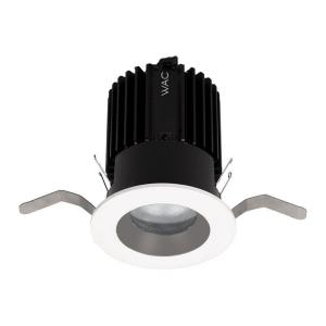 "Volta - 2"" 15-22W 3500K 85CRI 40 degree 1 LED Round Shallow Regressed Trim with Light Engine"