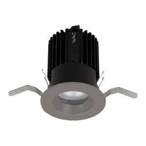 "Volta - 2"" 15-22W 3000K 90CRI 12 degree 1 LED Round Shallow Regressed Trim with Light Engine"