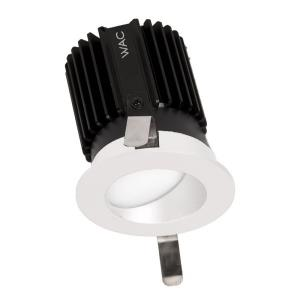 "Volta - 2"" 15-22W 2700K 85CRI 45 degree 1 LED Round Wall Wash Trim with Light Engine"