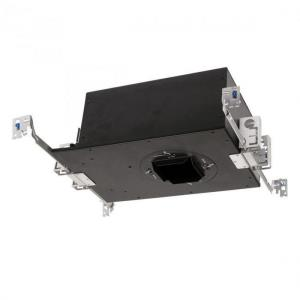 Volta - 2 Inch 22W 1 LED Square New Construction IC Rated Airtight Recessed Housing and Emergency Backup Battery