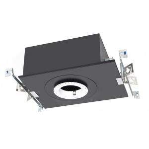 """Volta - 4.5"""" 25W 1 LED Round New Construction IC-Rated Airtight Recessed Housing with Lutron Driver"""