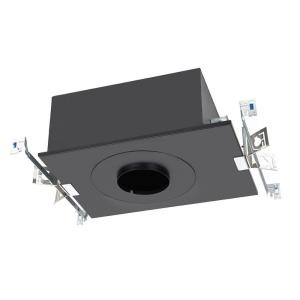 """Volta - 4.5"""" 25W 1 LED Round Trimmed New Construction IC-Rated Airtight Recessed Housing with Lutron Driver"""
