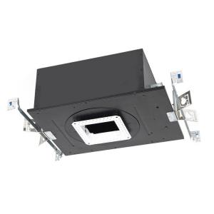 """Volta - 17.69"""" 15W 1 LED Recessed Chicago Plenum Housing for Square Invisible Trim with Emergency Backup Battery"""