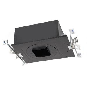 """Volta - 17.69"""" 15W 1 LED Recessed Chicago Plenum Housing for Square Trim with Emergency Backup Battery"""