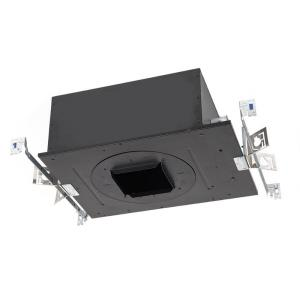 """Volta - 4.5"""" 25W 1 LED Square Trimmed New Construction IC-Rated Airtight Recessed Housing with Lutron Driver"""