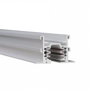 """Accessory - 96"""" 277V W Track Flangless 2-Circuit Recessed Track"""