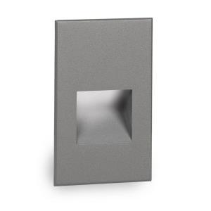 LEDme - 5 Inch 277V 3.9W Amber 1 LED Vertical Step/Wall Light