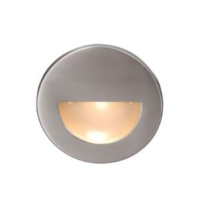 "LEDme - 3.5"" 3.9W 1 LED Round Step/Wall Light"