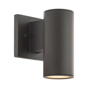 Cylinder - 6.75 Inch 6W 1 LED Single Up or Down Outdoor Wall Sconce
