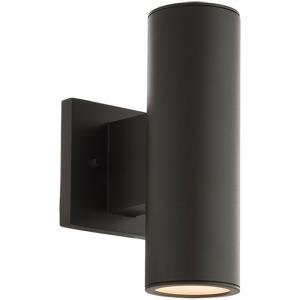 Cylinder - 9.42 18W 2 LED Double Up and Down Outdoor Wall Sconce