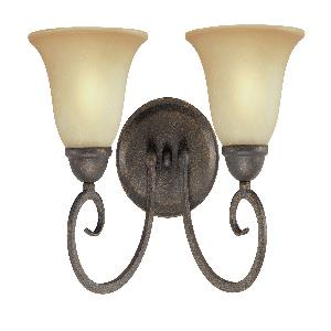 Spring Valley - Two Light Wall Mount