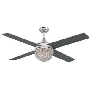 """Kelcie - 52"""" Ceiling Fan with Light Kit"""