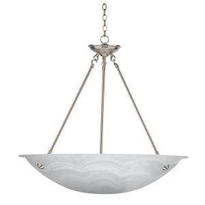 Alana - Three Light Bowl Chandelier