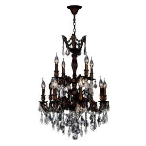 Versailles - Twelve Light 2-Tier Large Chandelier