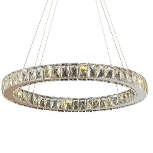 "Galaxy - 24"" 15W 15 LED Large Chandelier"