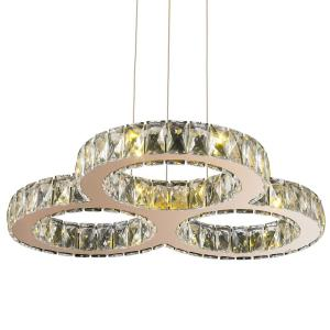 "Galaxy - 24"" 18W 18 LED Large Chandelier"