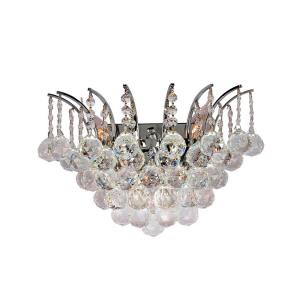 "Empire - 12"" Three Light Large Wall Sconce"
