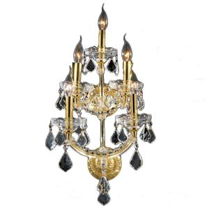 Maria Theresa - Five Light 3-Tier Medium Wall Sconce