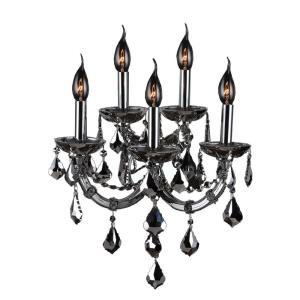 Lyre - Five Light 2-Tier Large Wall Sconce