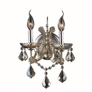 Lyre - Two Light Medium Candle Wall Sconce