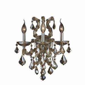 Lyre - Three Light Large Candle Wall Sconce
