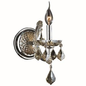 Lyre - One Light Small Candle Wall Sconce
