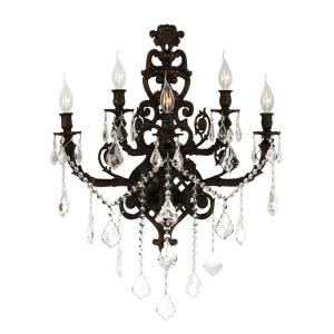Versailles - Five Light 2-Tier Large Wall Sconce