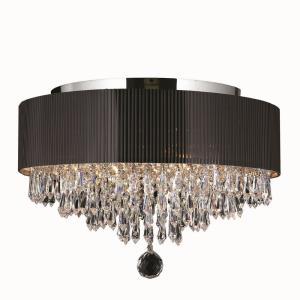 Gatsby - Four Light Round Medium Flush Mount