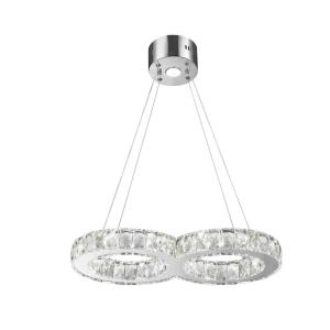 "Galaxy - 22"" 14W 14 LED Medium Chandelier"