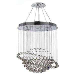 "Saturn - 56"" Nine Light Large Chandelier"