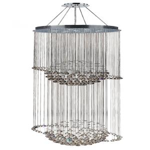 Saturn - Twelve Light 2-Tier Large Chandelier