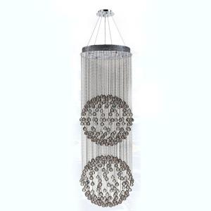 "Saturn - 118"" Nine Light Large Chandelier"