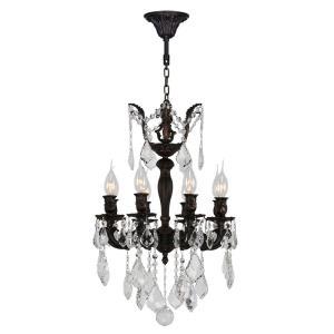 """Versailles - 16"""" Eight Light Medium Round Chandelier"""