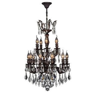 Versailles - Fifteen Light 2-Tier Medium Chandelier