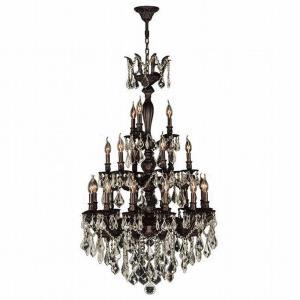Versailles - Twenty-One Light 3-Tier Large Round Chandelier