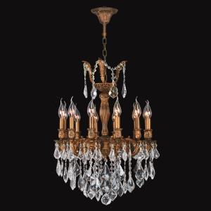 """Versailles - 20"""" Twelve Light Medium Round Chandelier"""