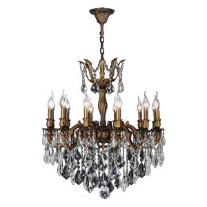 "Versailles - 27"" Twelve Light Large Round Chandelier"