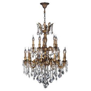Versailles - Fifteen Light 2-Tier Large Chandelier