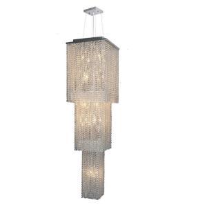 Prism - Twenty Light 3-Tier Chandelier