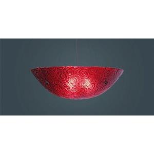 "Bowl - Three Light -43"" Pendant"