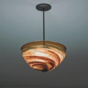 "Rose Agua Viva - Three Light -41"" Pendant"