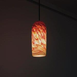 Rose - One Light - 47 Inch Cylinder Pendant