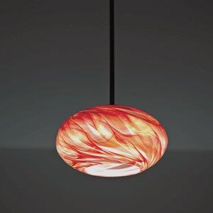 "Rose - One Light -15"" Globe Pendant"