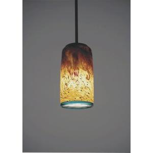 "Tall Whitney - One Light - 45"" Cylinder Pendant"