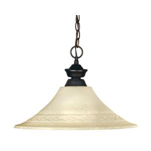 Challenger Riviera - One Light Pendant