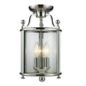 Wyndham - Three Light Semi-Flush Mount