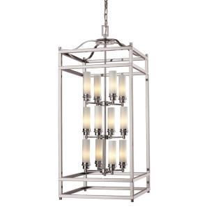 Altadore 3 Tier Chandelier 12 Light  Glass/Metal