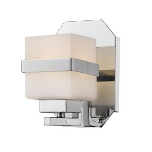 Ascend - 8W 1 LED Wall Sconce in Fusion Style - 4.8 Inches Wide by 7.1 Inches High