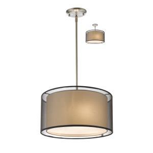 Sedona - 3 Light Convertible Pendant